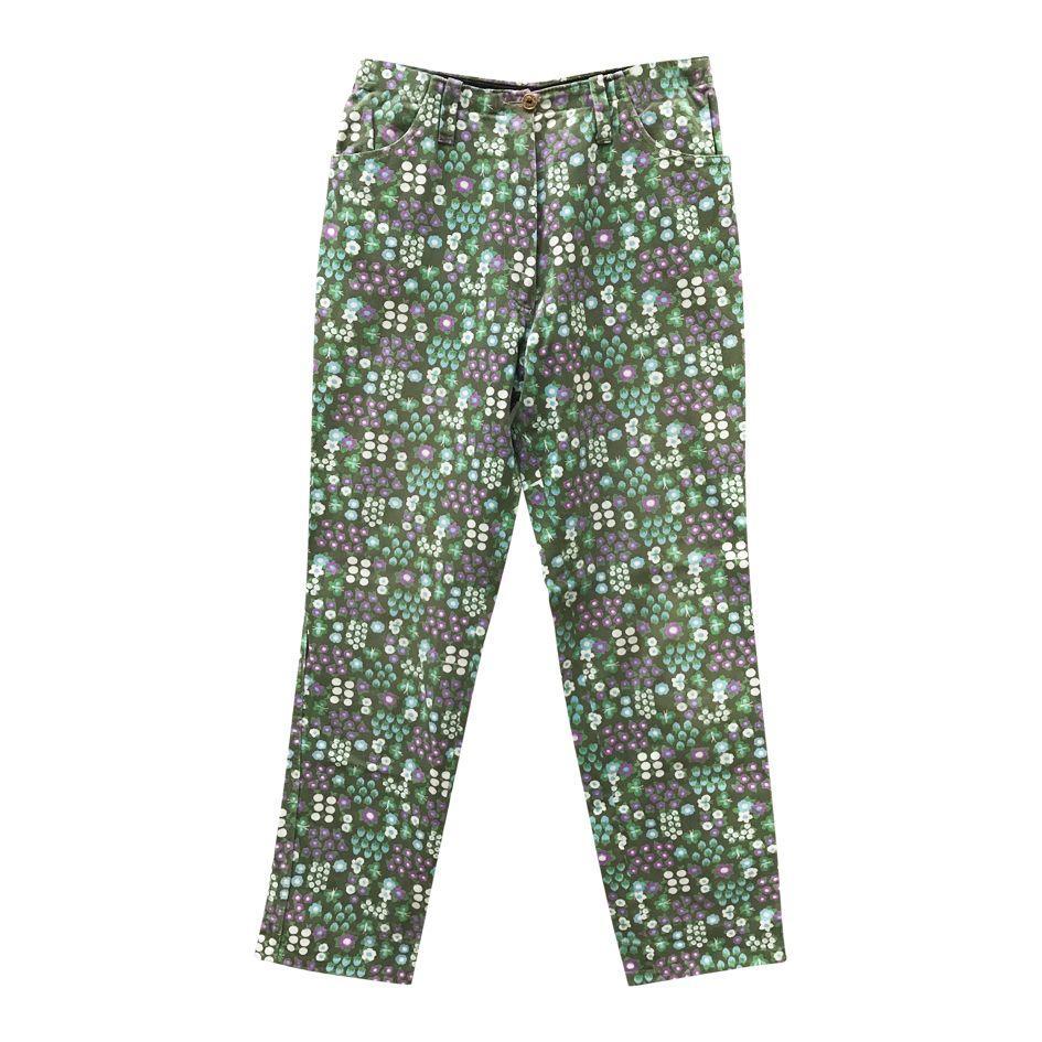 Pantalons - Jean à fleurs