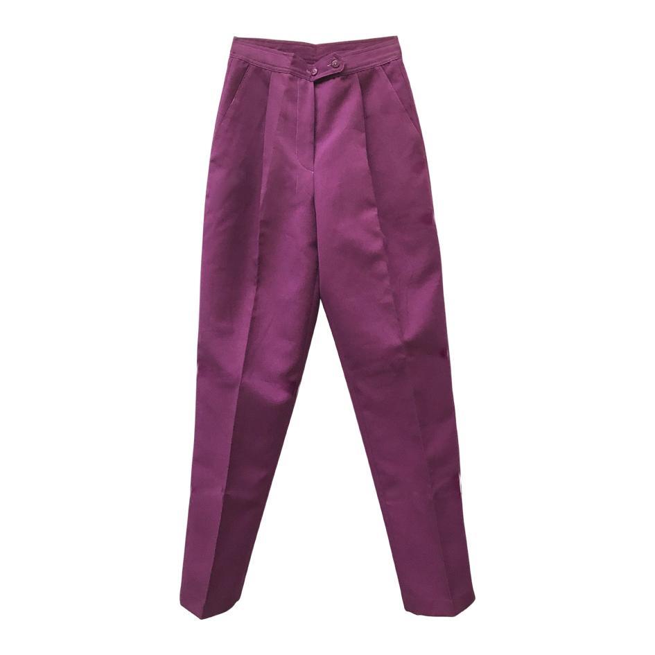 Pantalons - Pantalon à pinces améthyste