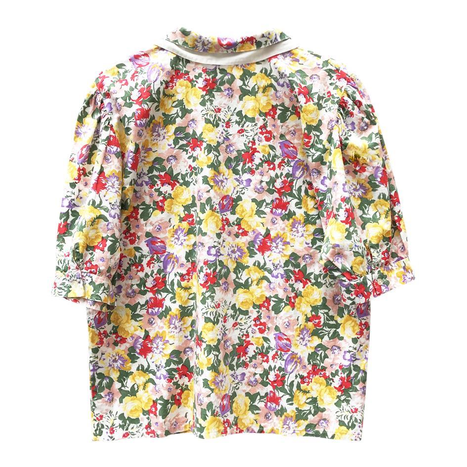 Tops - Blouse fleurie