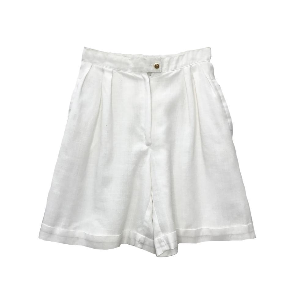 Shorts - Short en lin Ted Lapidus