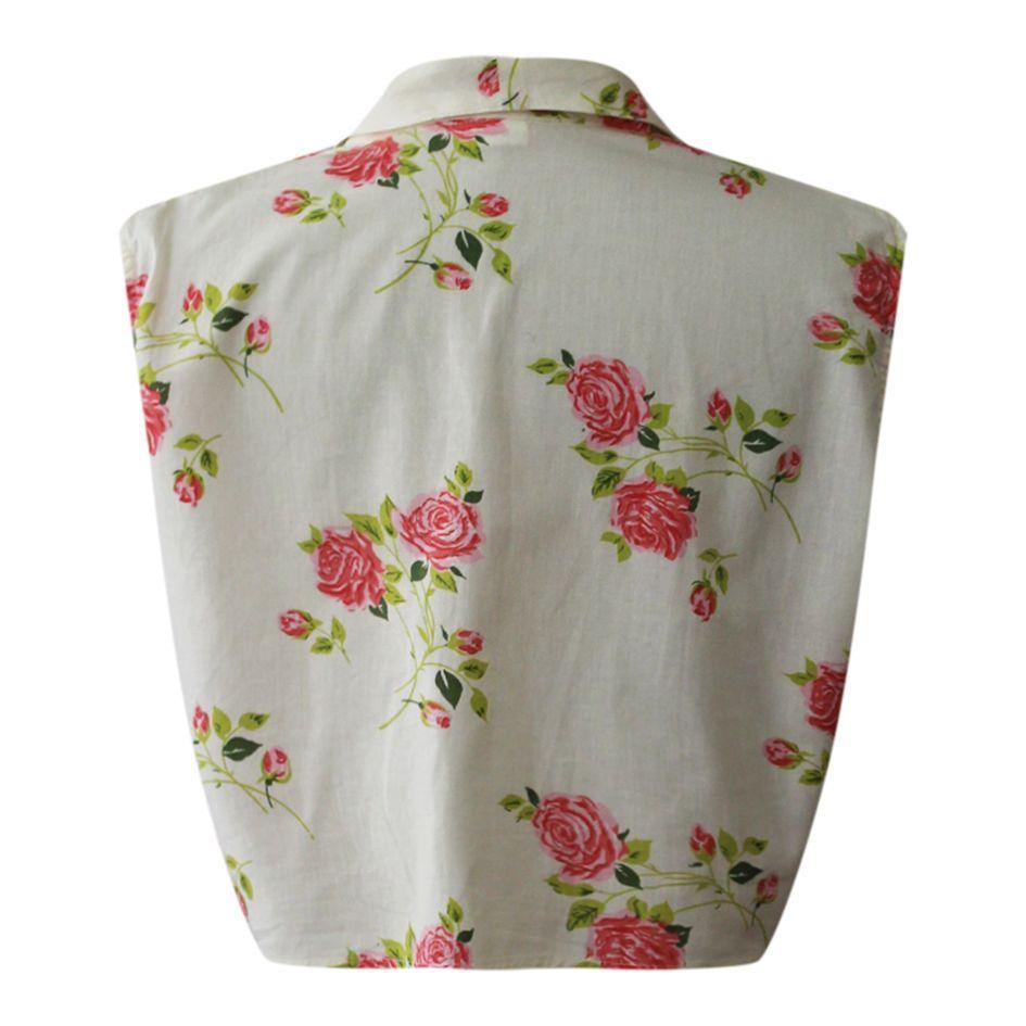 Tops - Blouse imprimée de roses