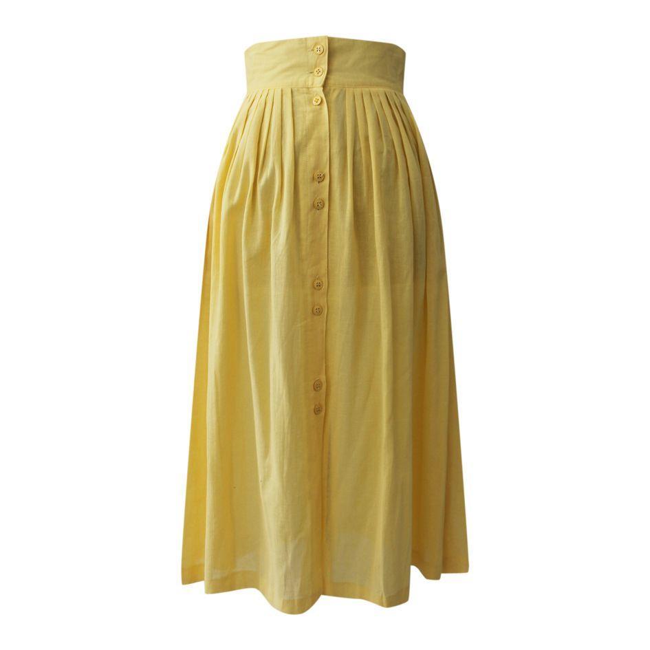 Jupes - Jupe longue en coton