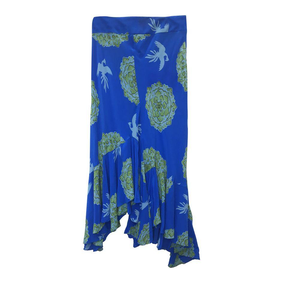Jupes - Jupe en soie Kenzo Jeans
