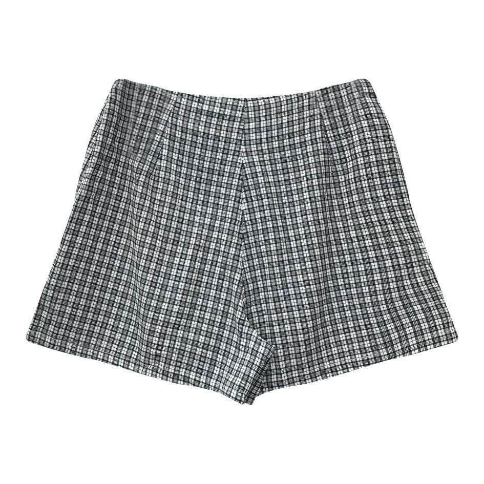 Jupes - Jupe-short à carreaux