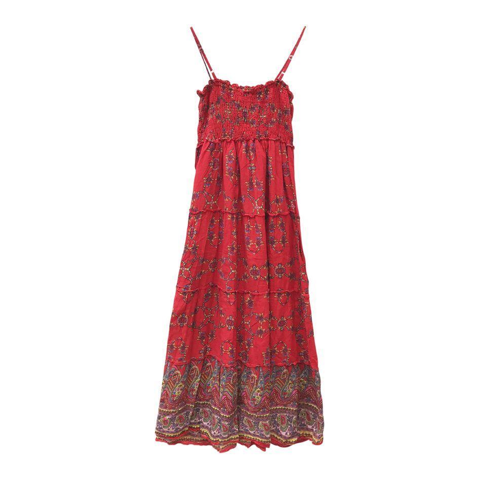 Robes - Robe longue paisley