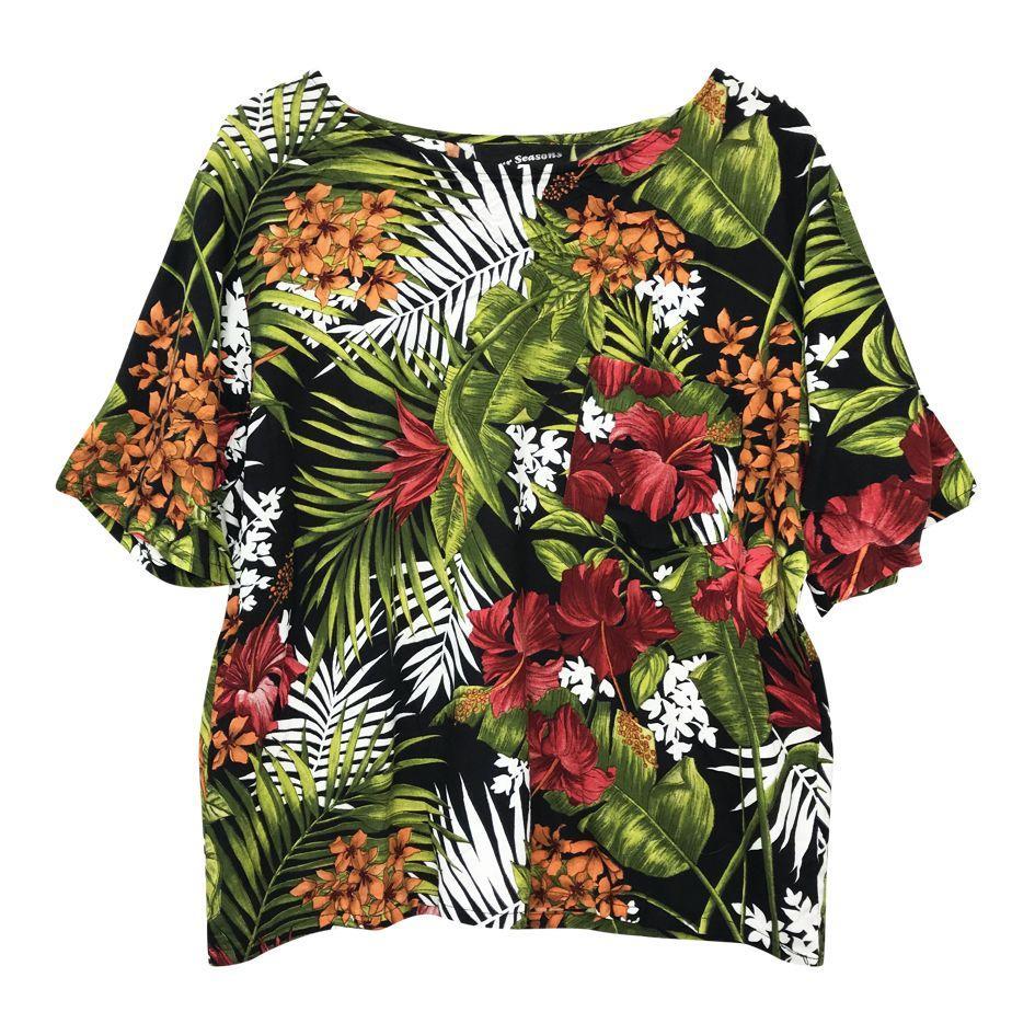 Tops - Tee-shirt tropical