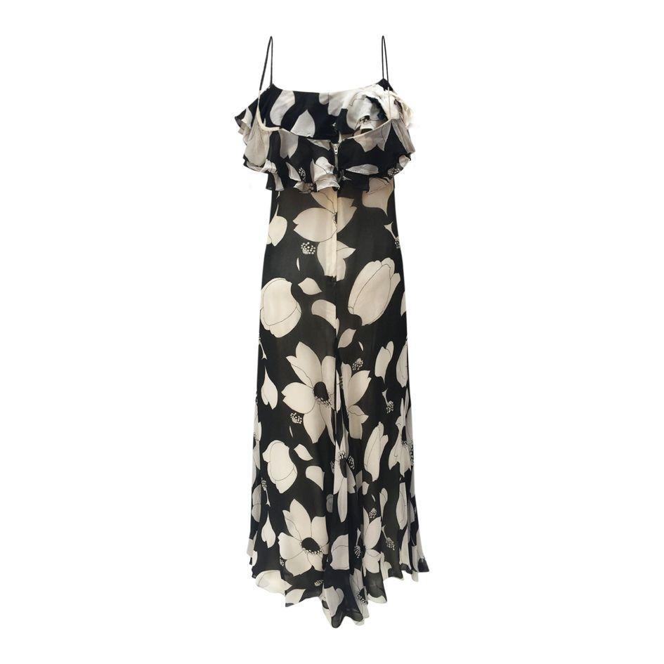 Robes - Robe à fleurs en soie