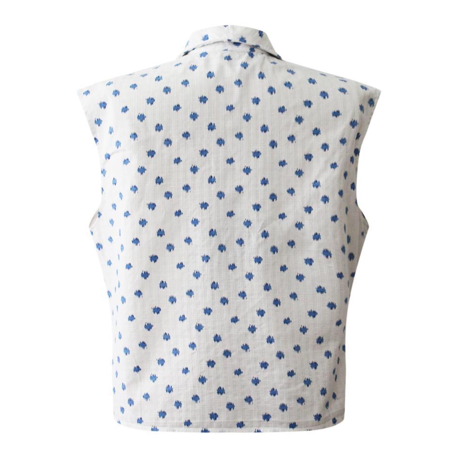 Tops - Blouse en coton imprimé