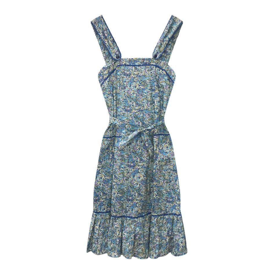 Robes - Robe en coton paisley