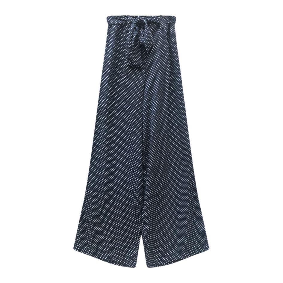 Pantalons - Pantalon Palazzo à pois