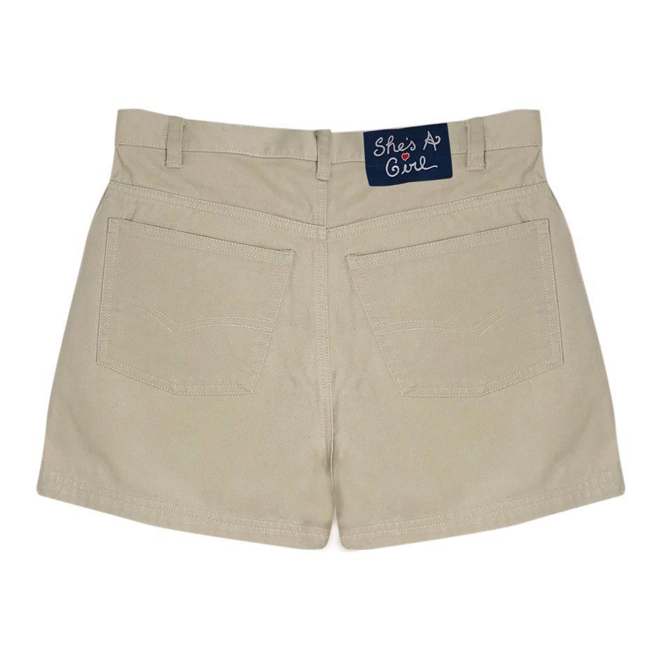 Shorts - Short beige