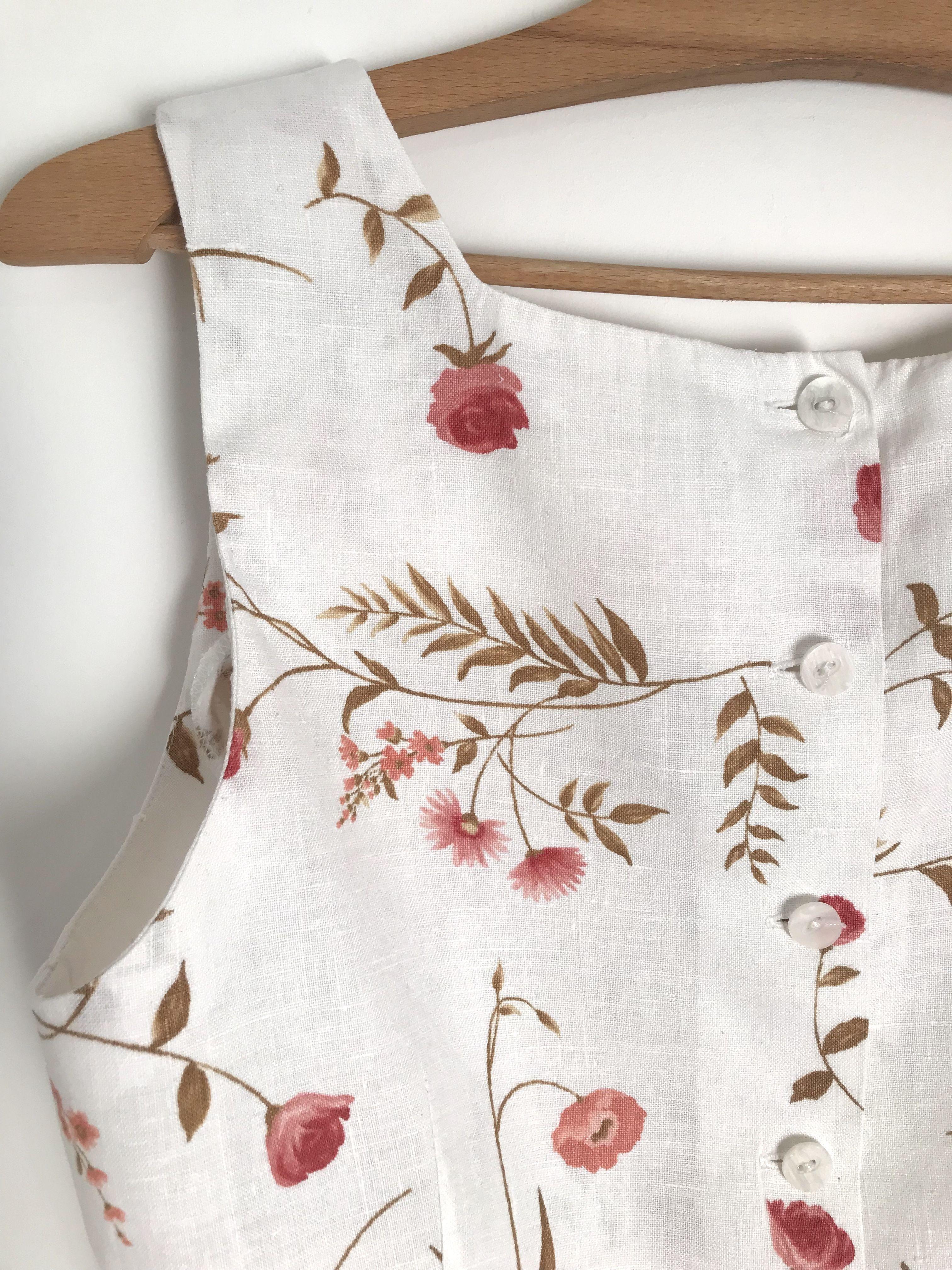 Tops - Crop top à fleurs