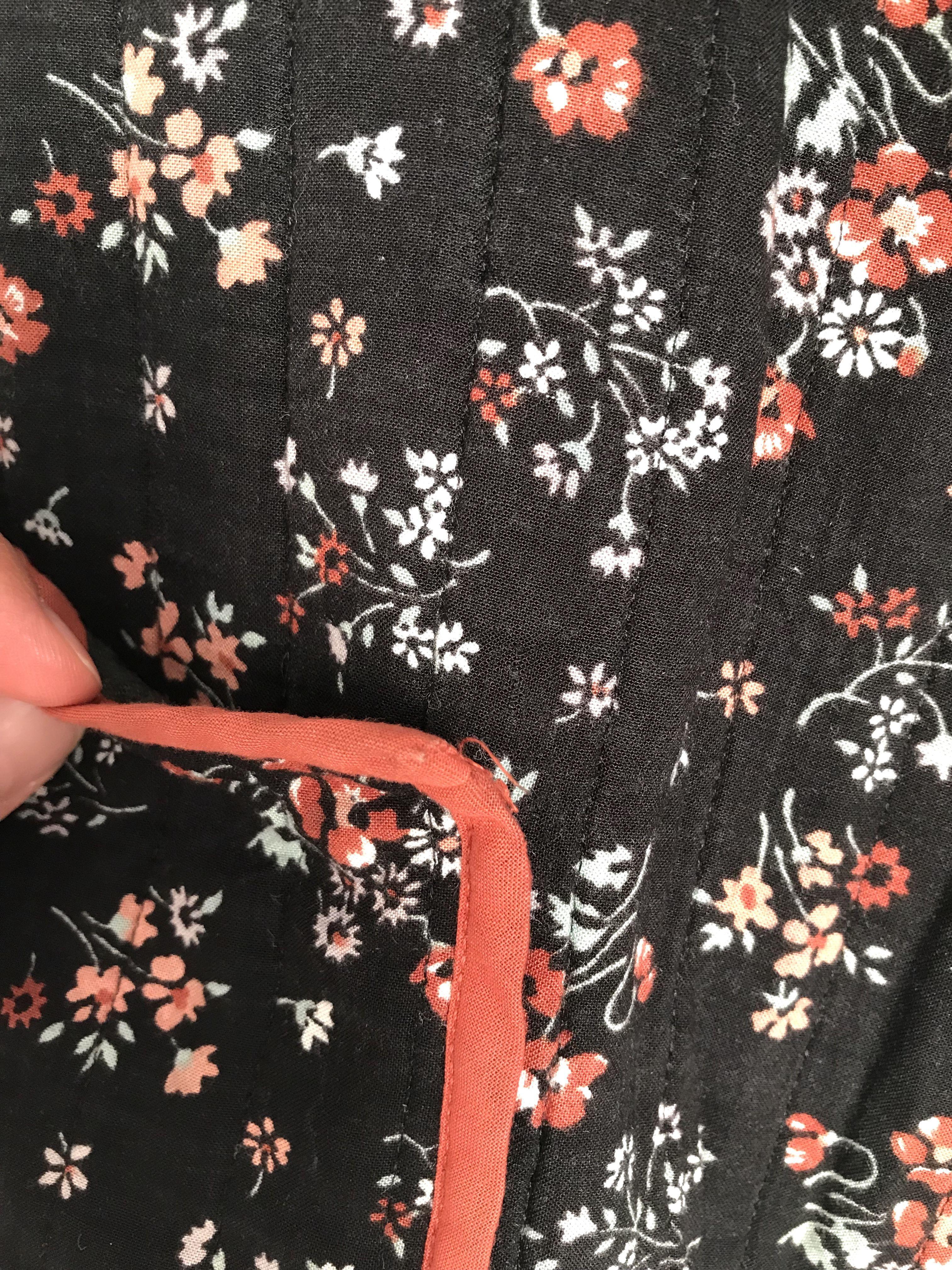 Pulls - Gilet à fleurs
