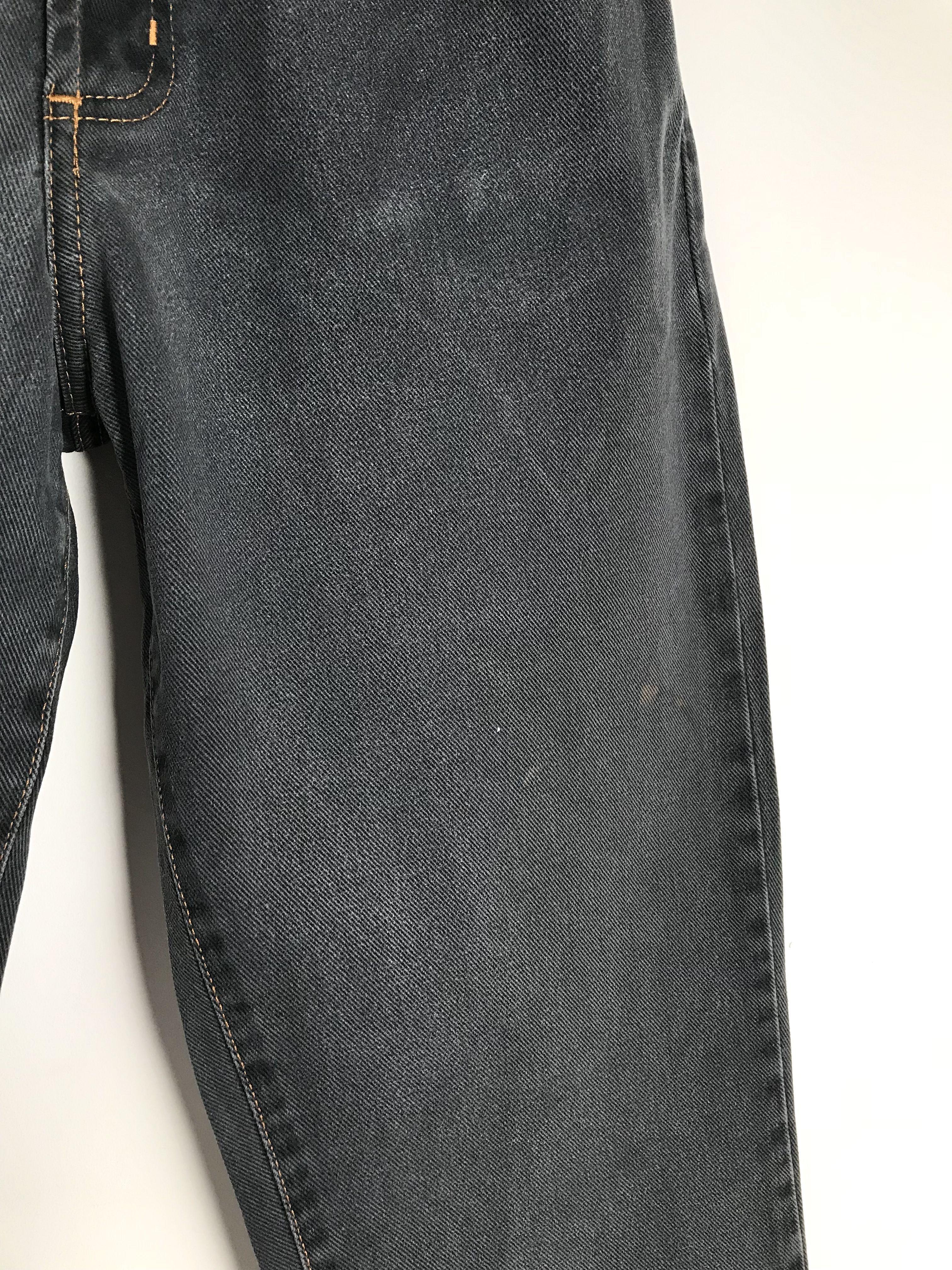 Pantalons - Jean taille haute gris