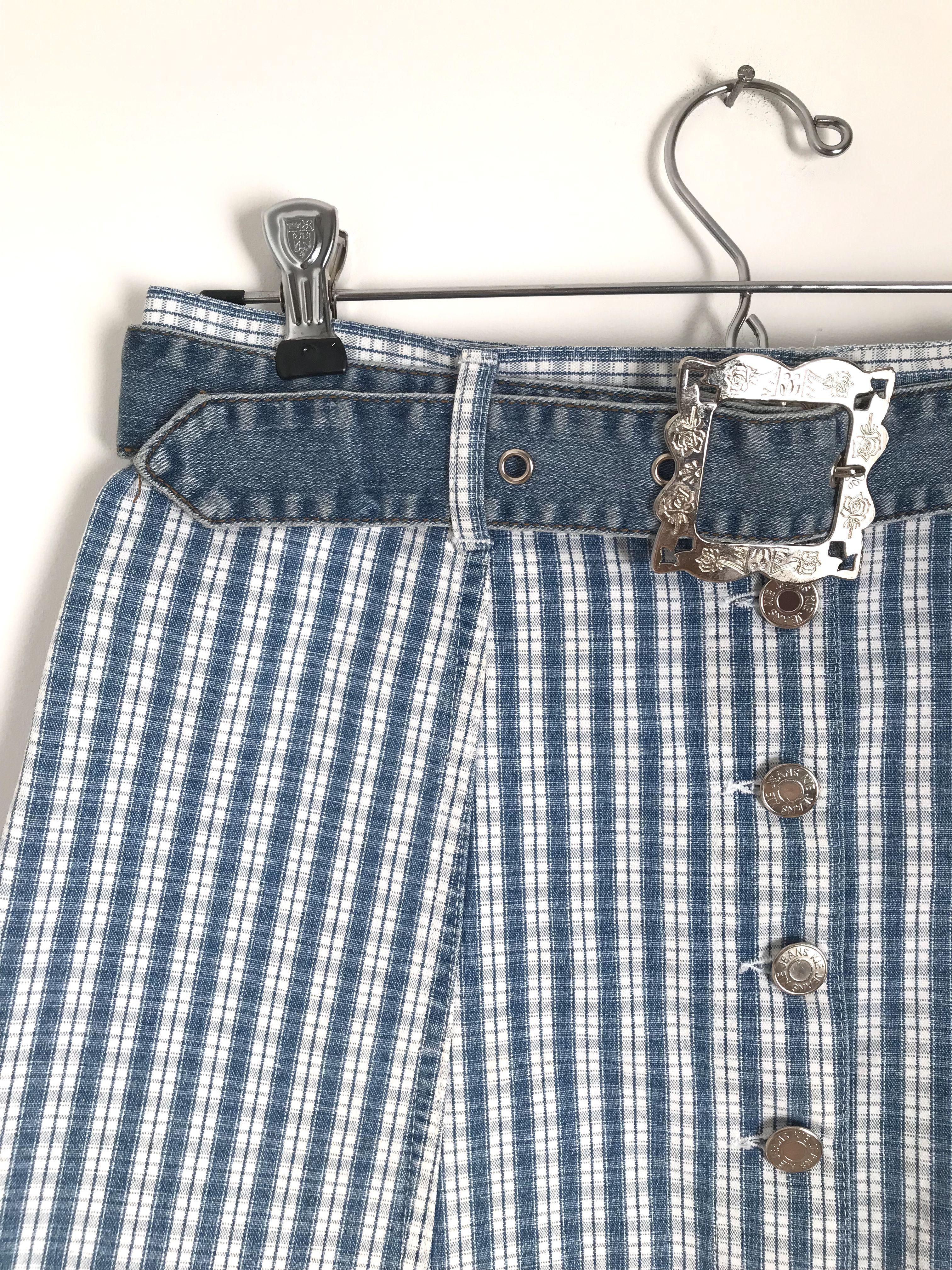 Jupes - Mini jupe en jean