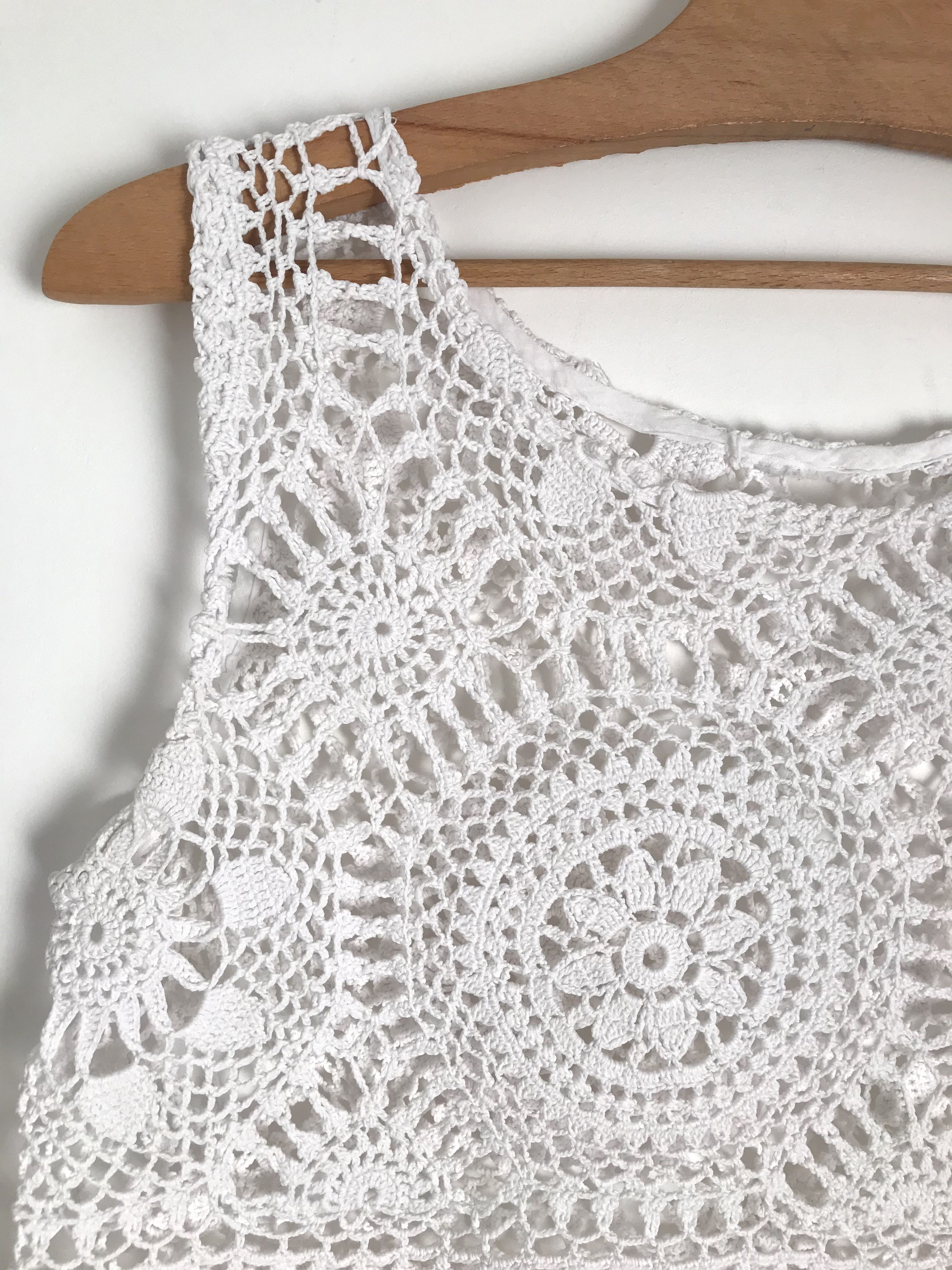 Tops - Crop top en crochet