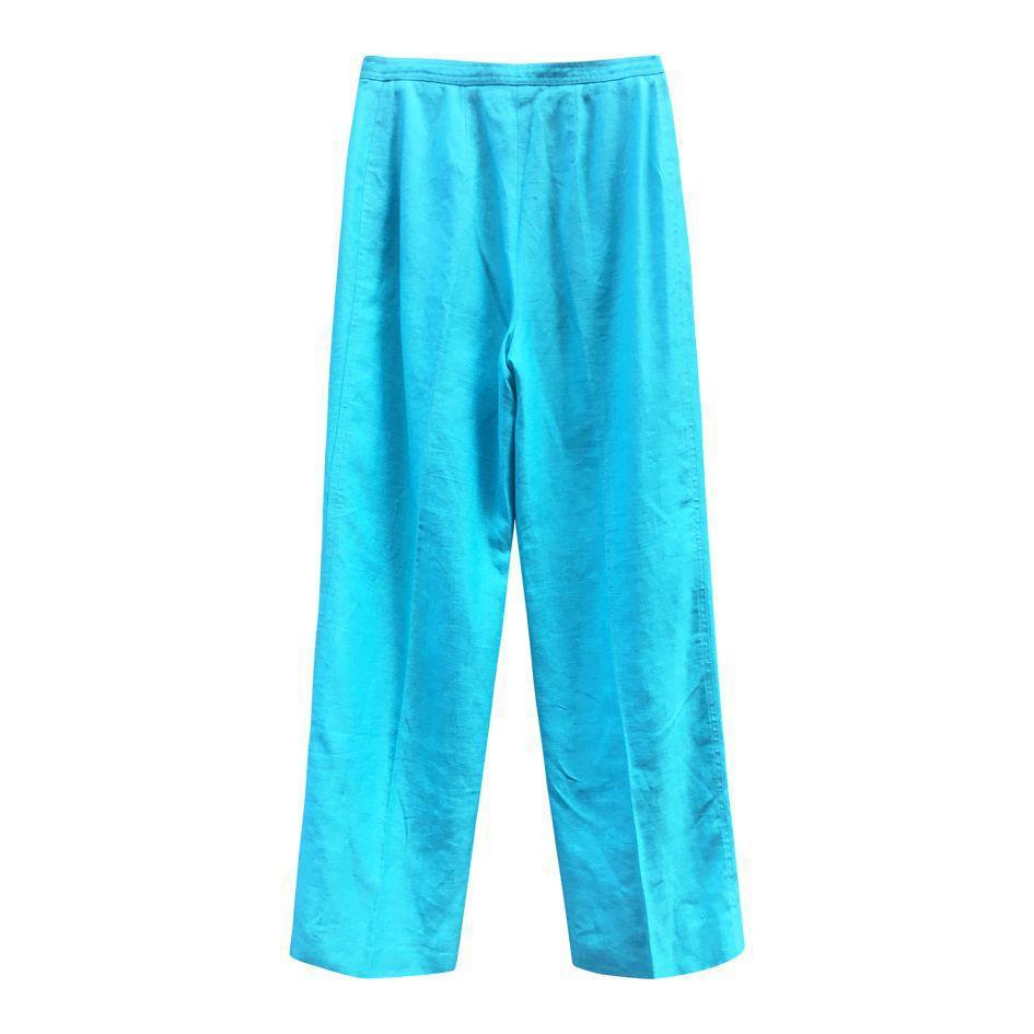 Pantalons - Pantalon en lin Courrèges