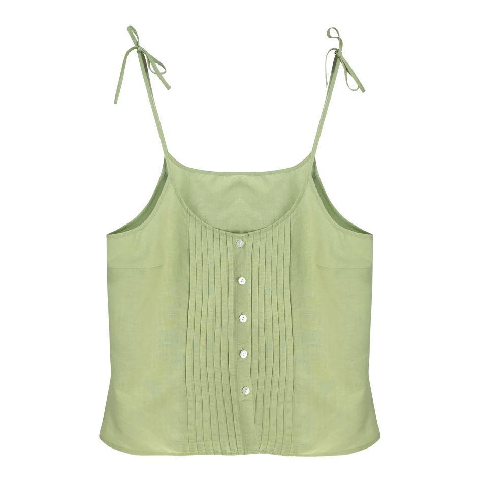 Tops - Débardeur vert pâle