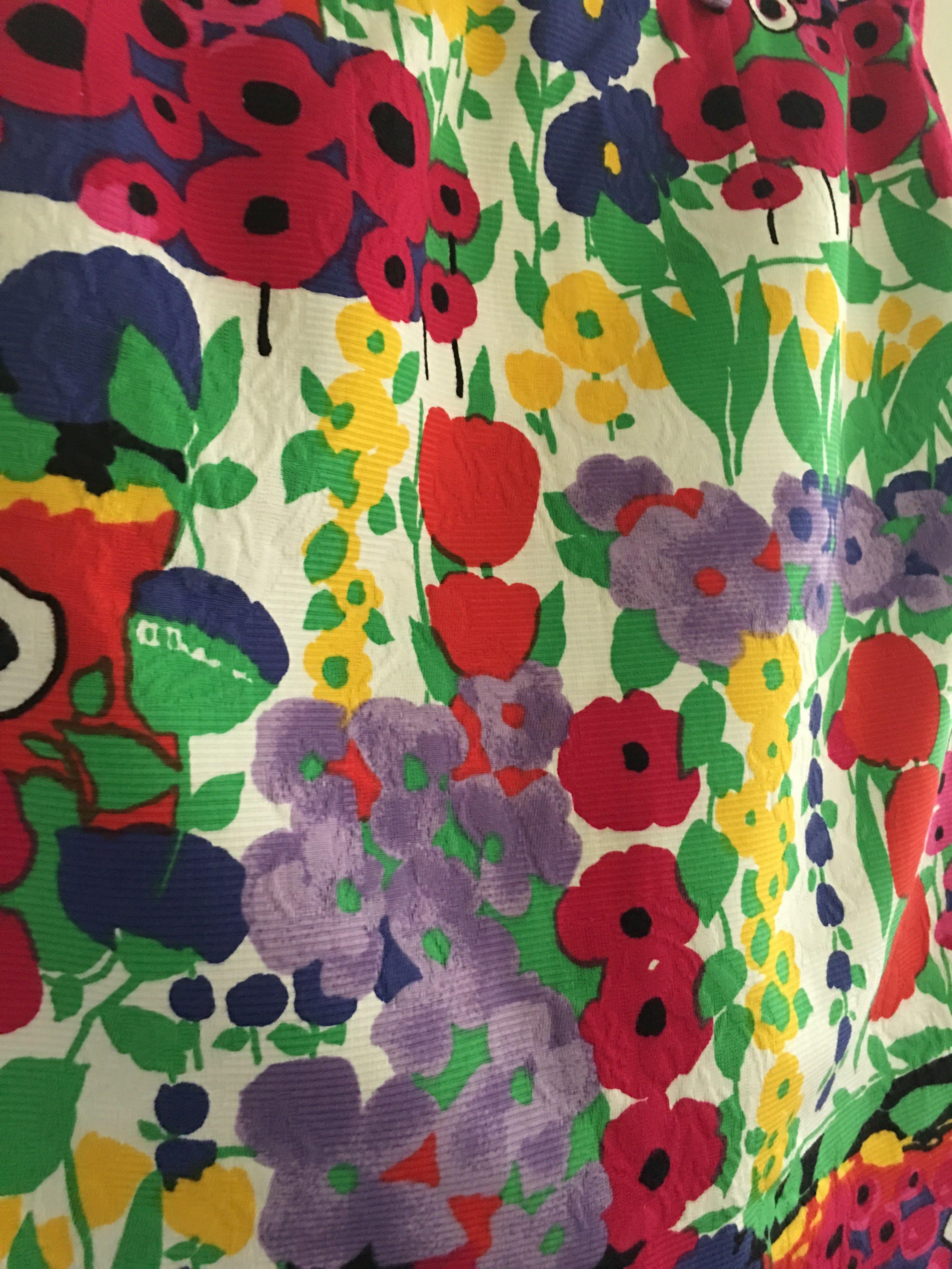 Jupes - Mini Jupe à fleurs