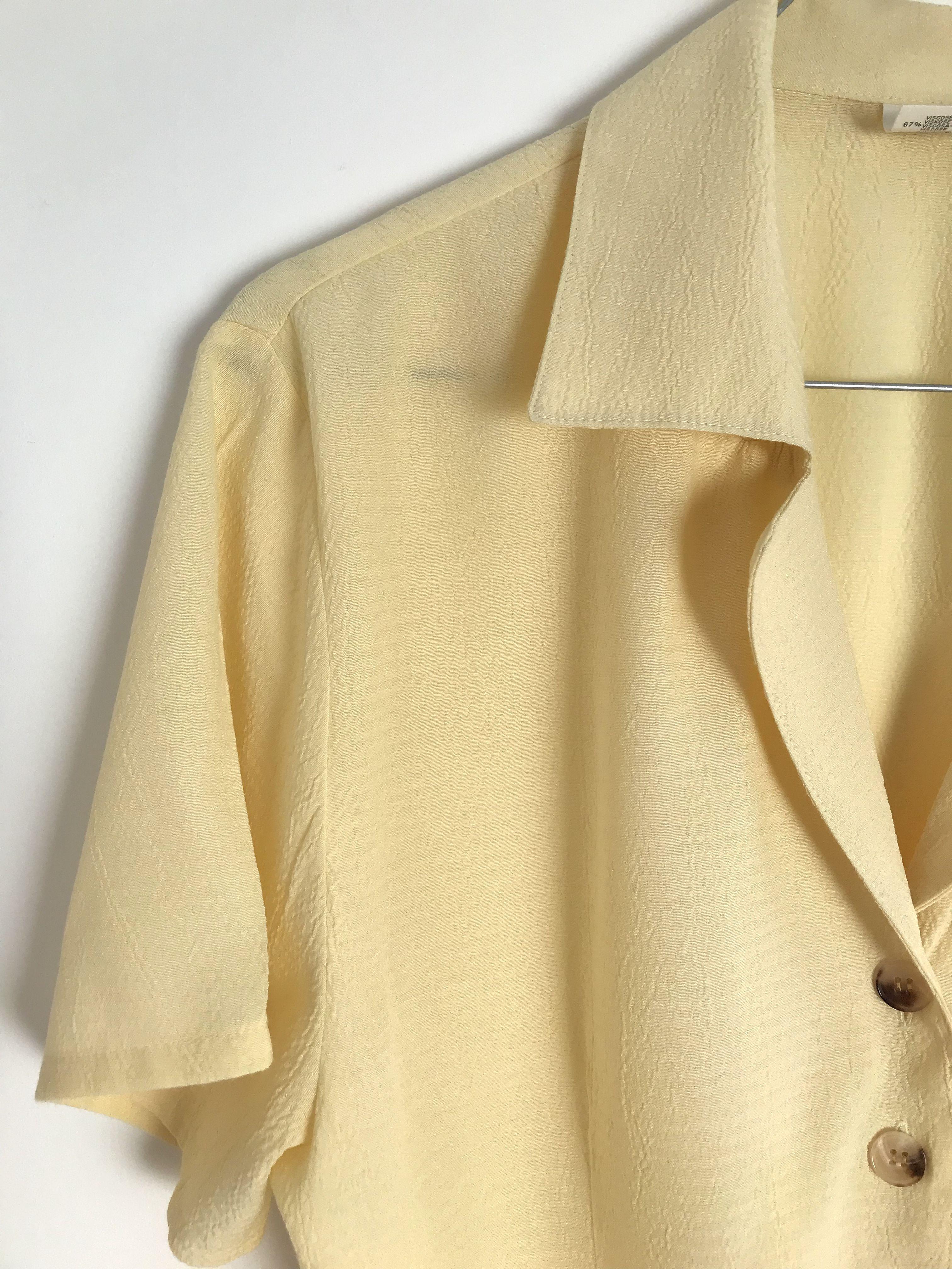 Tops - Chemisier jaune pâle