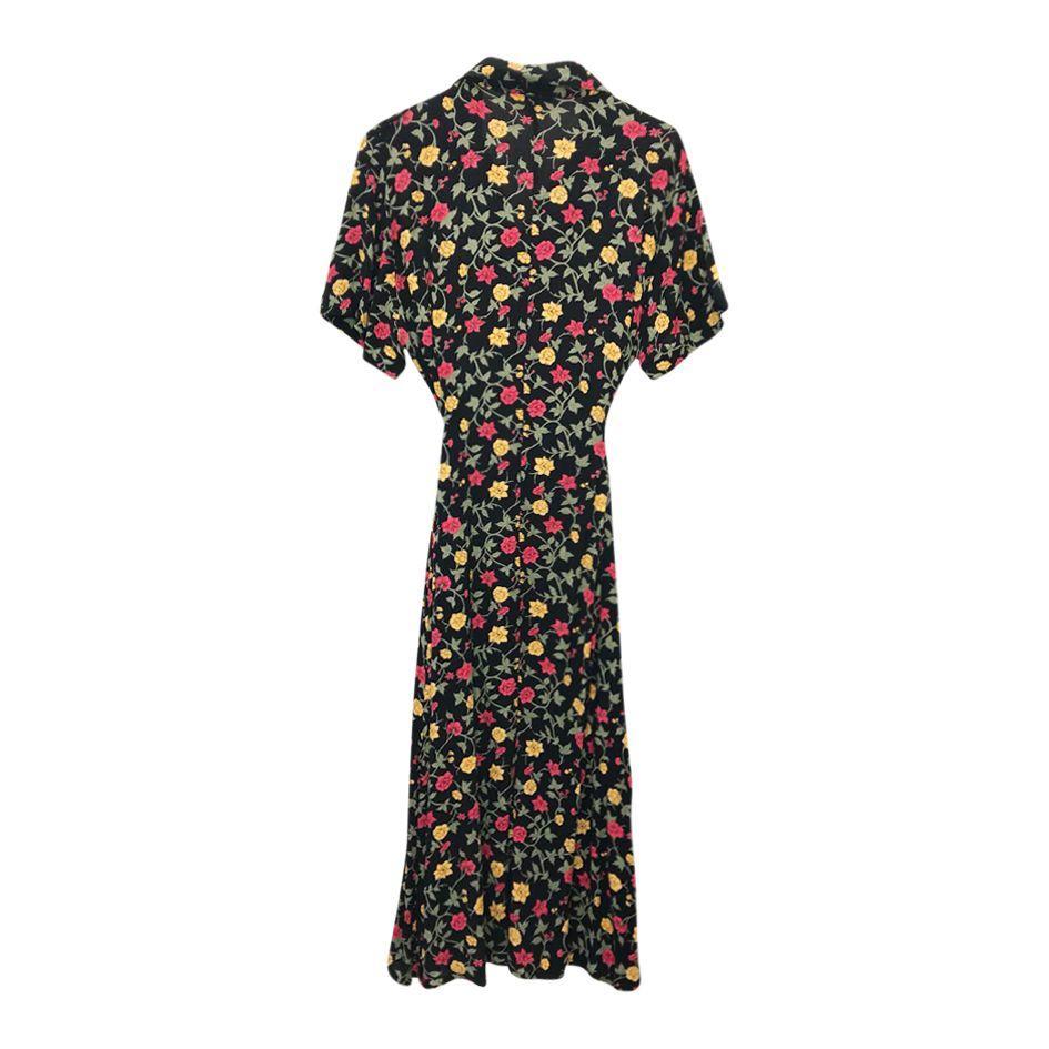 Robes - Robe longue à fleurs