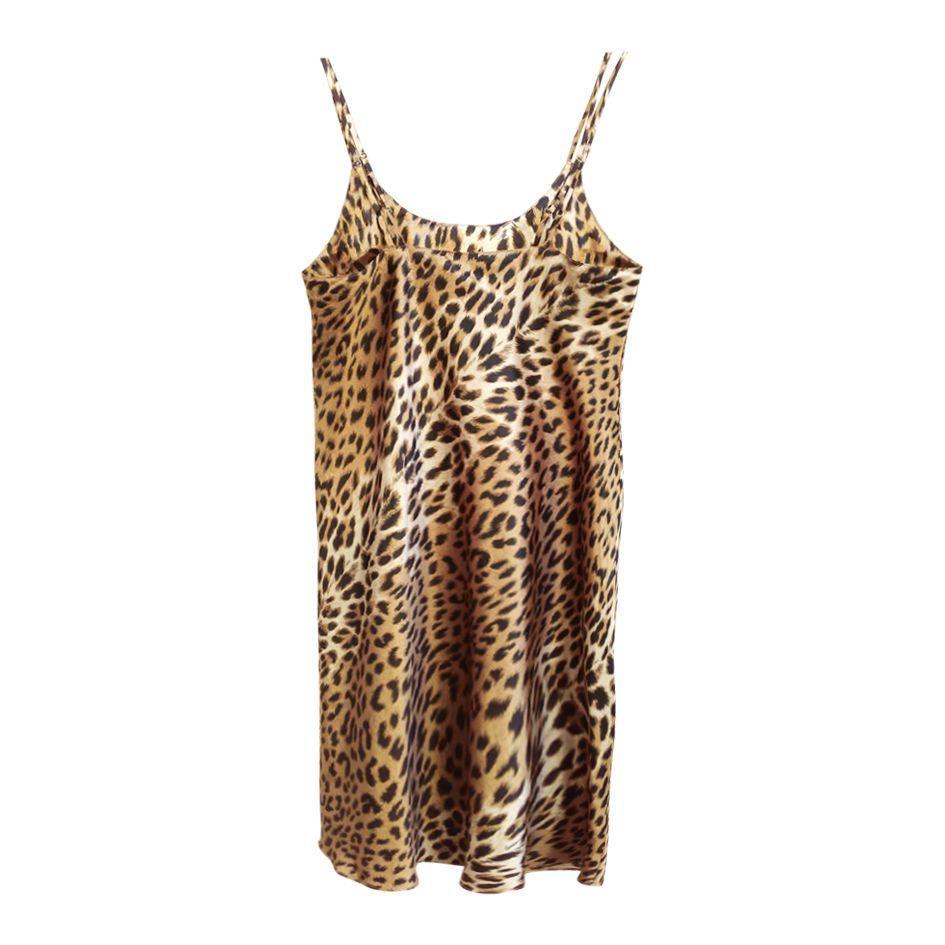 Robes - Robe courte léopard