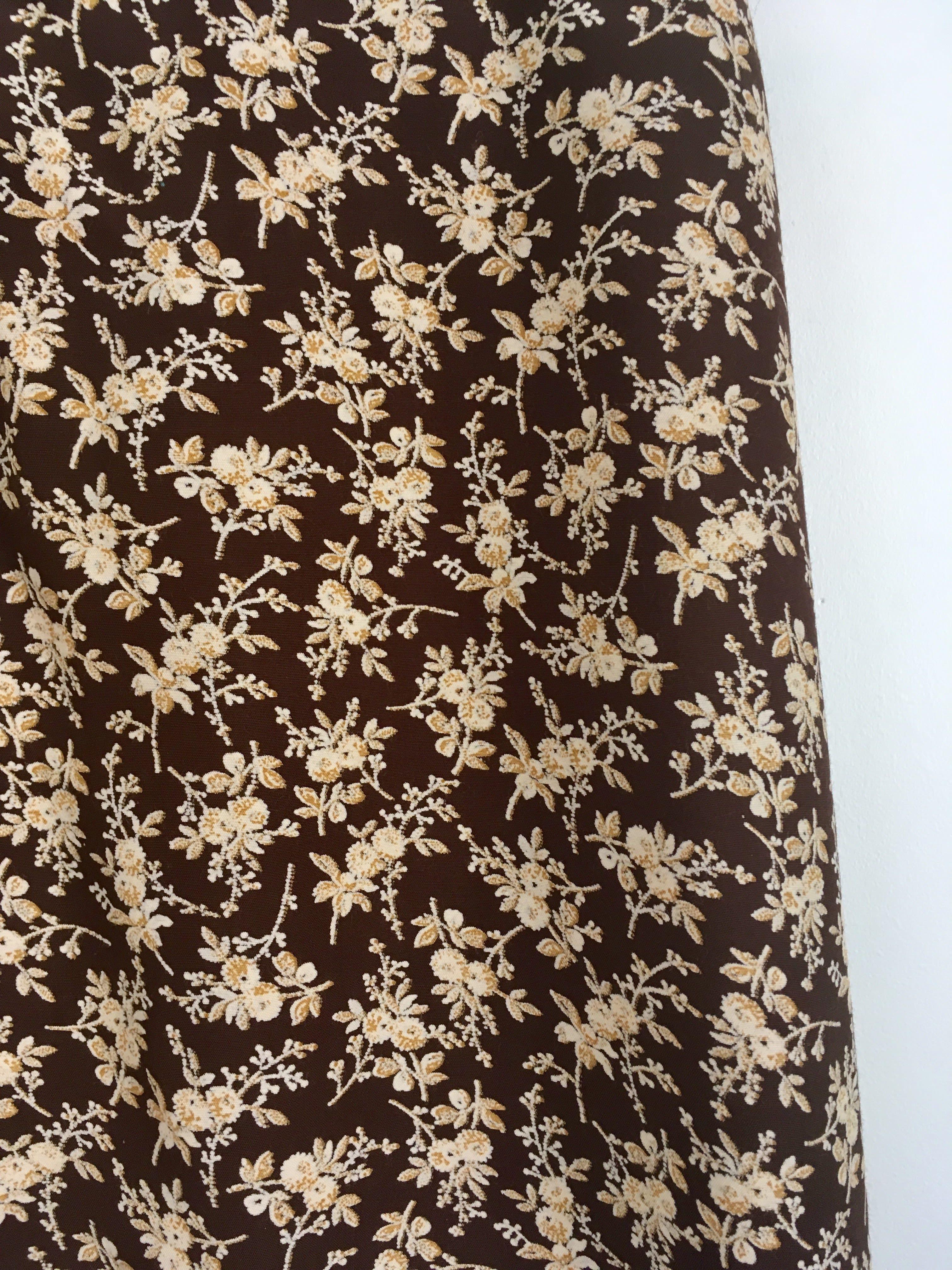 Jupes - Jupe longue à fleurs