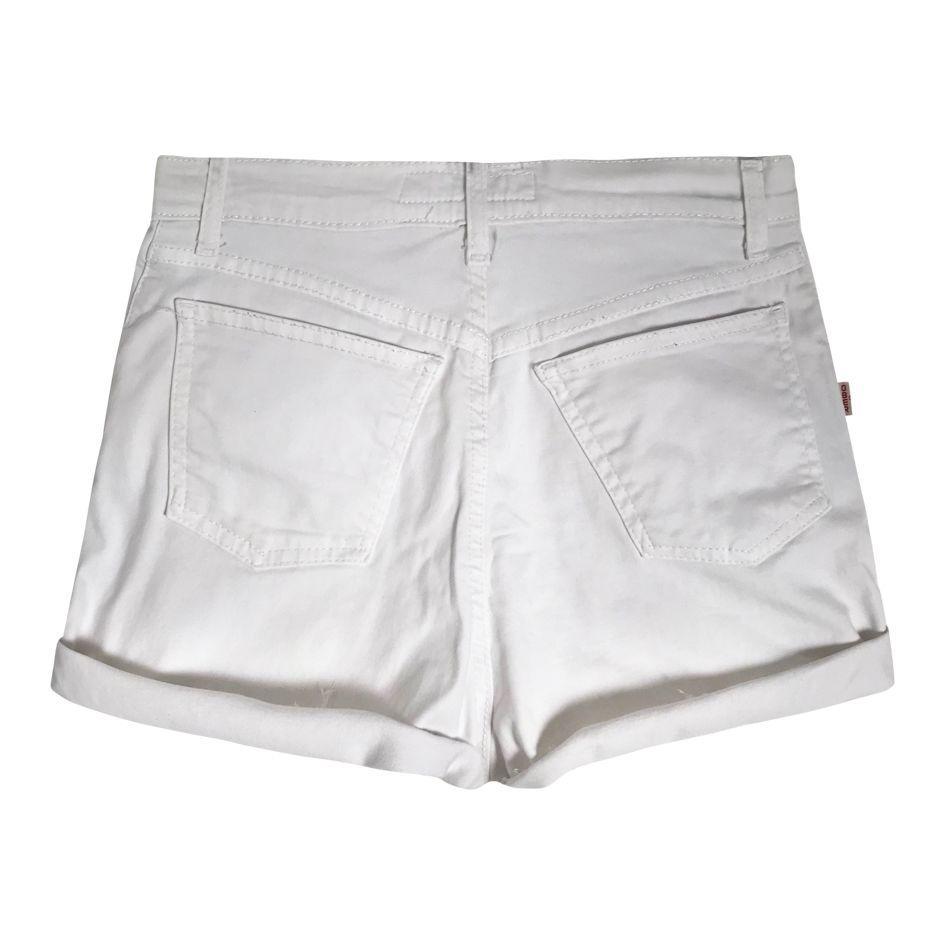 Shorts - Short en jean blanc