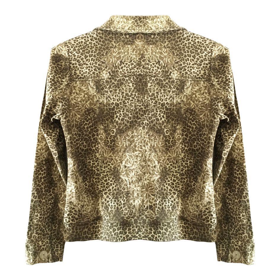 Vestes - Veste léopard courte