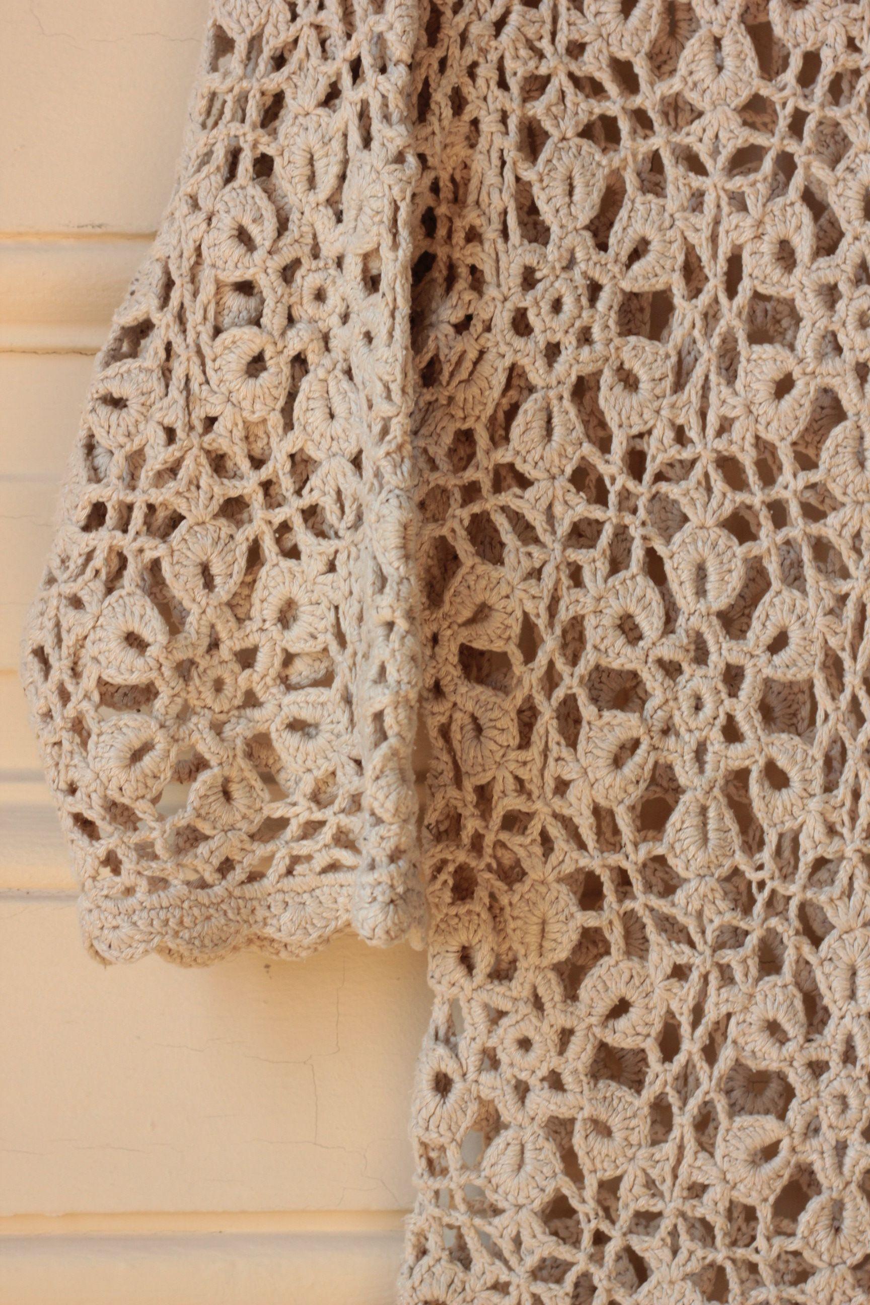 Tops - Top en crochet de soie