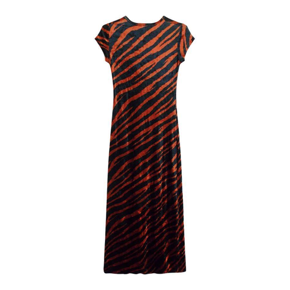 Robes - Robe longue tigre