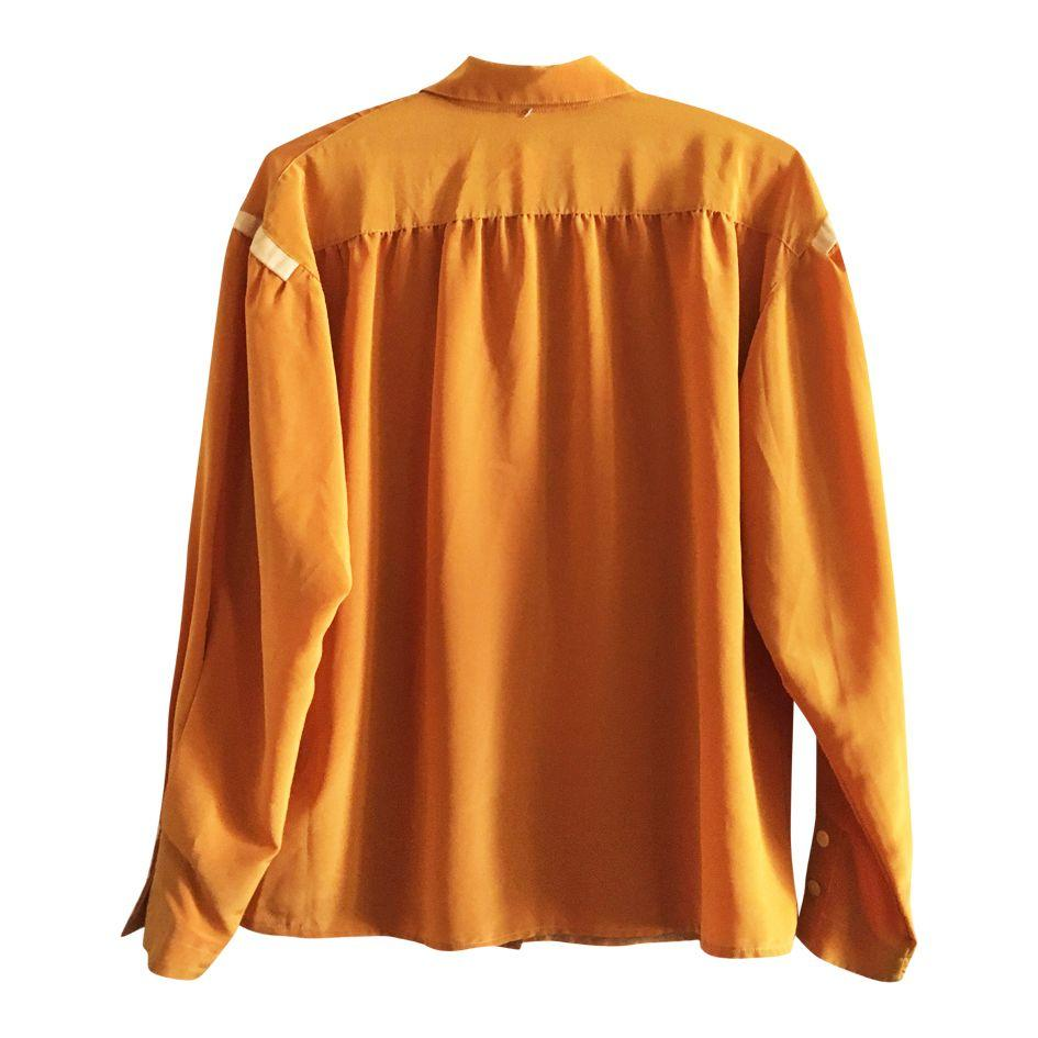 Tops - Chemise moutarde