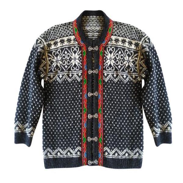 Pulls - Cardigan norvégien