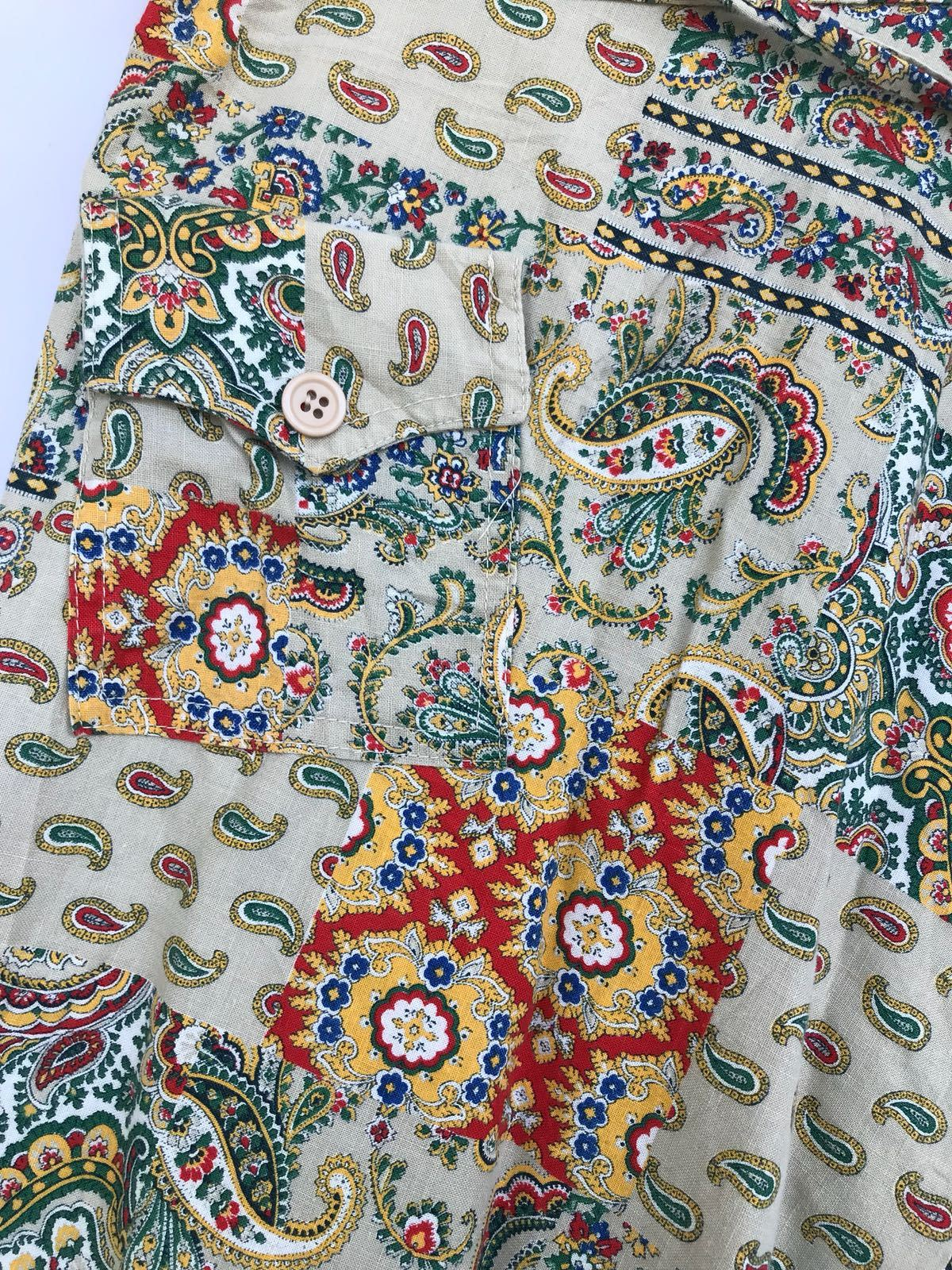 Jupes - Jupe portefeuille paisley