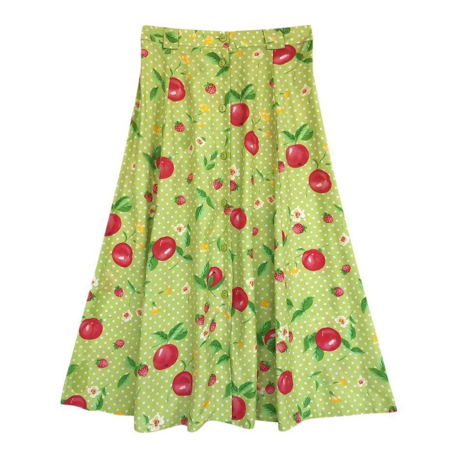 Jupes - Jupe fruits