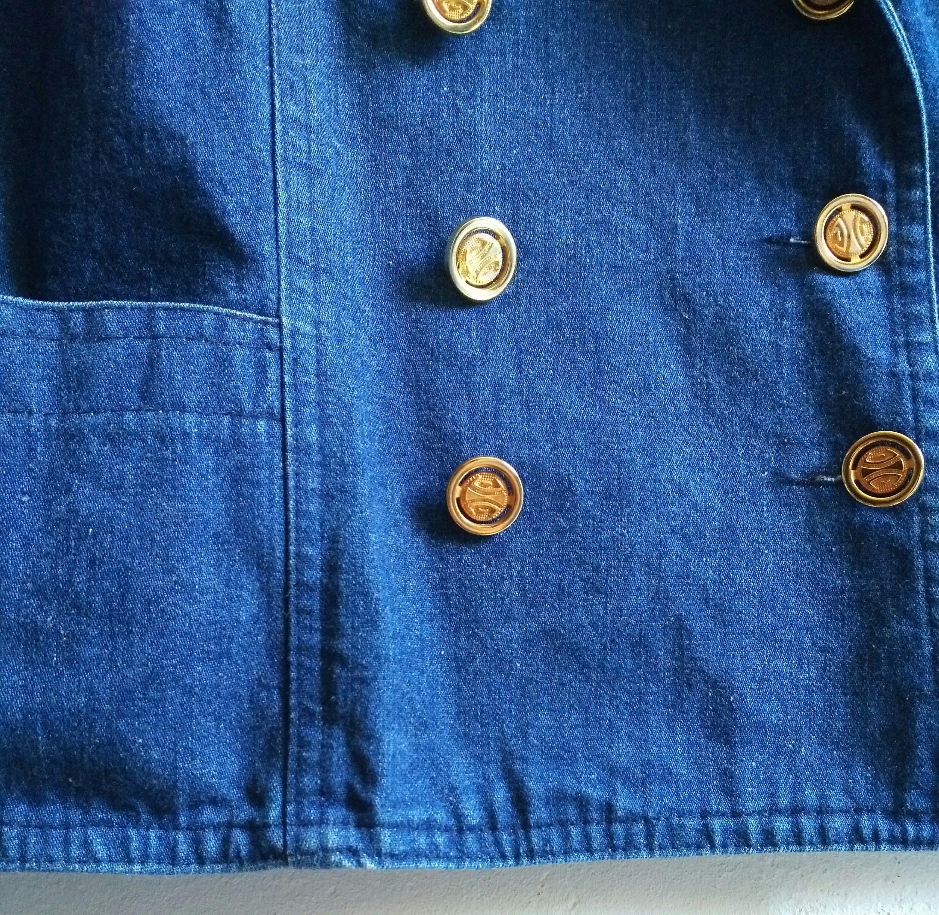 Vestes - Veste croisée en jean