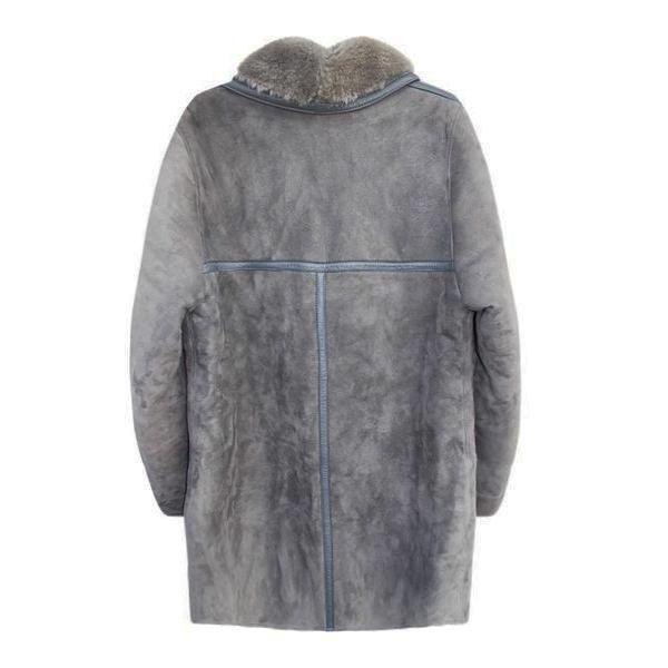 Manteaux - Peau lainée grise