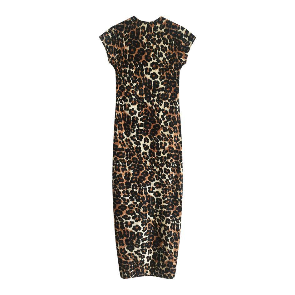 Robes - Robe longue léopard