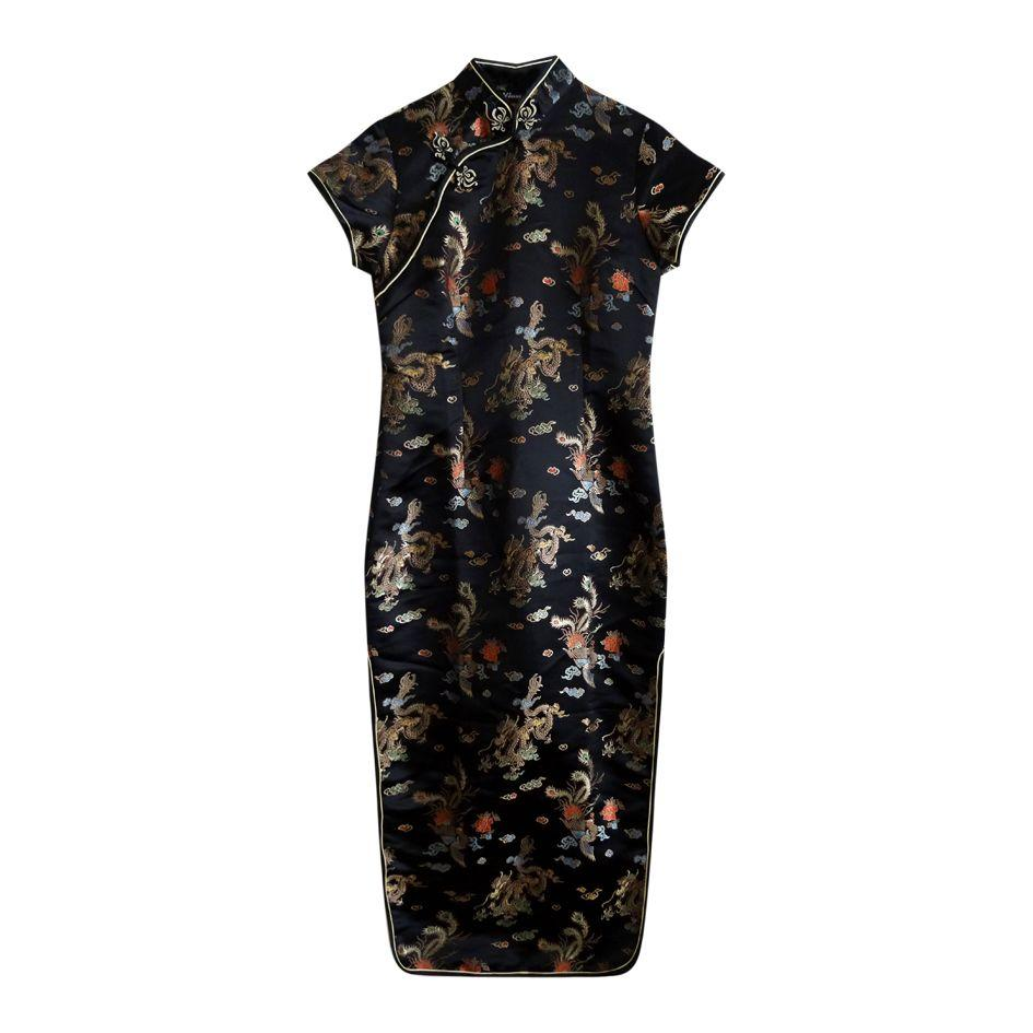 Robes - Robe chinoise col mao