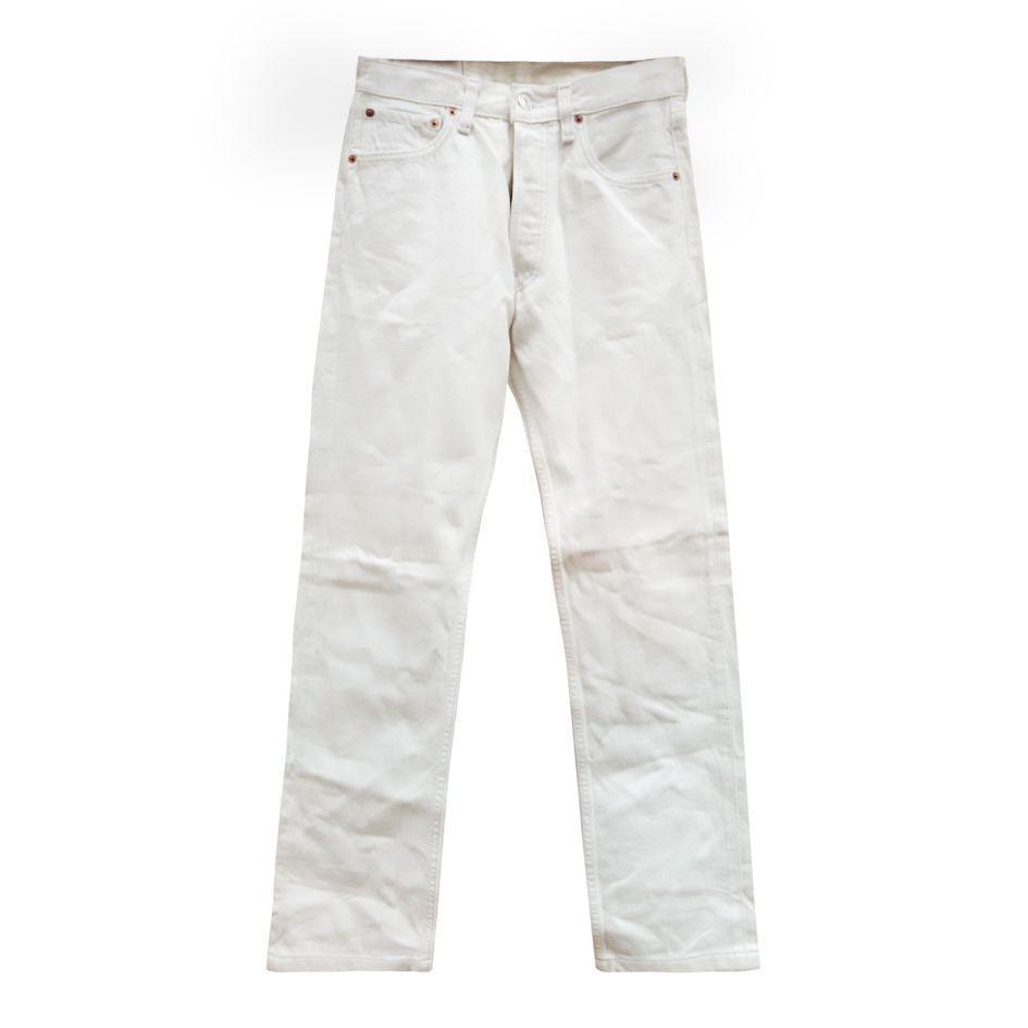 Pantalons - Jean Levi's blanc W26L28