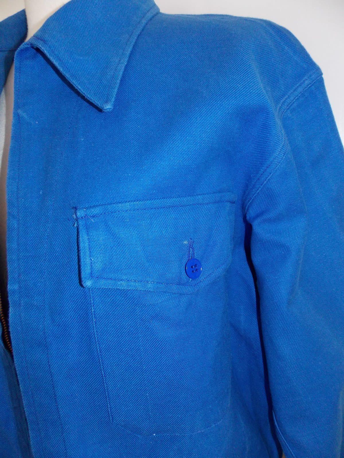 Vestes - Blouson bleu de travail