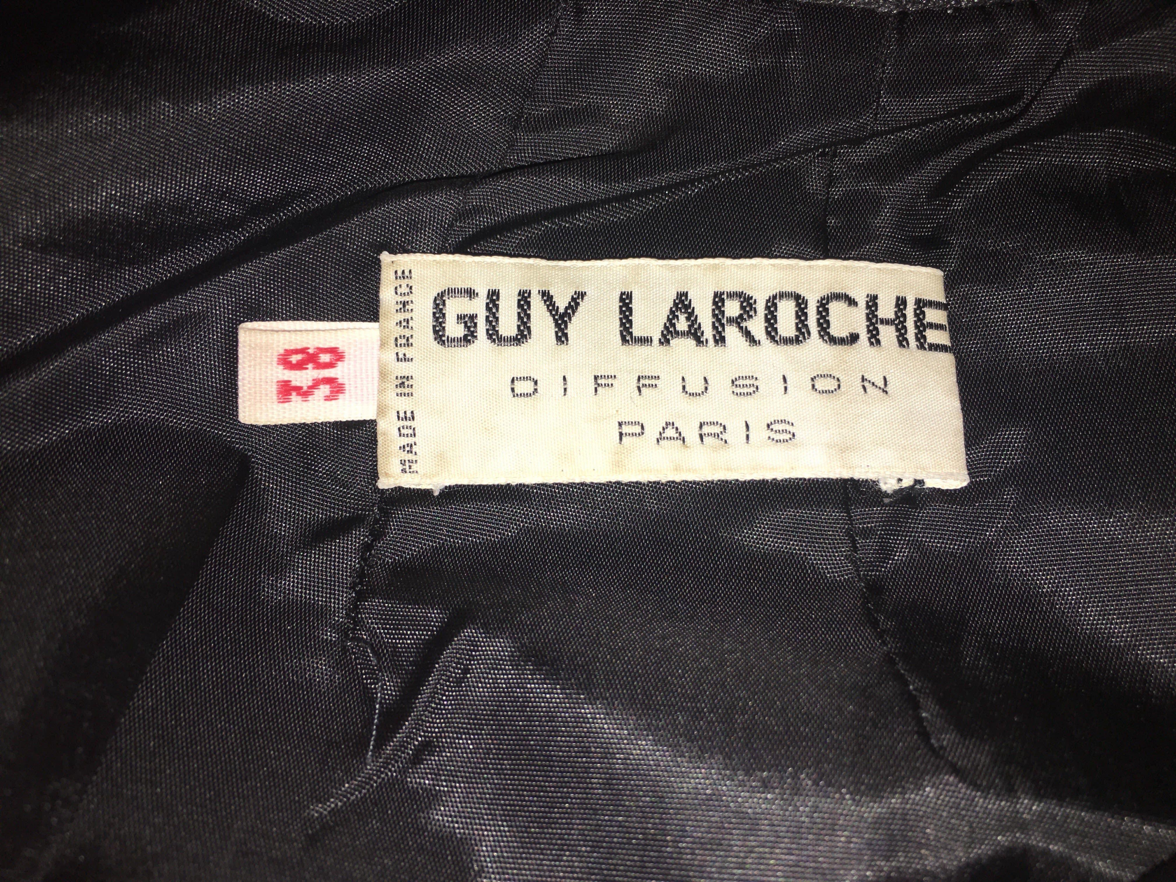 Jupes - Jupe en cuir Guy Laroche