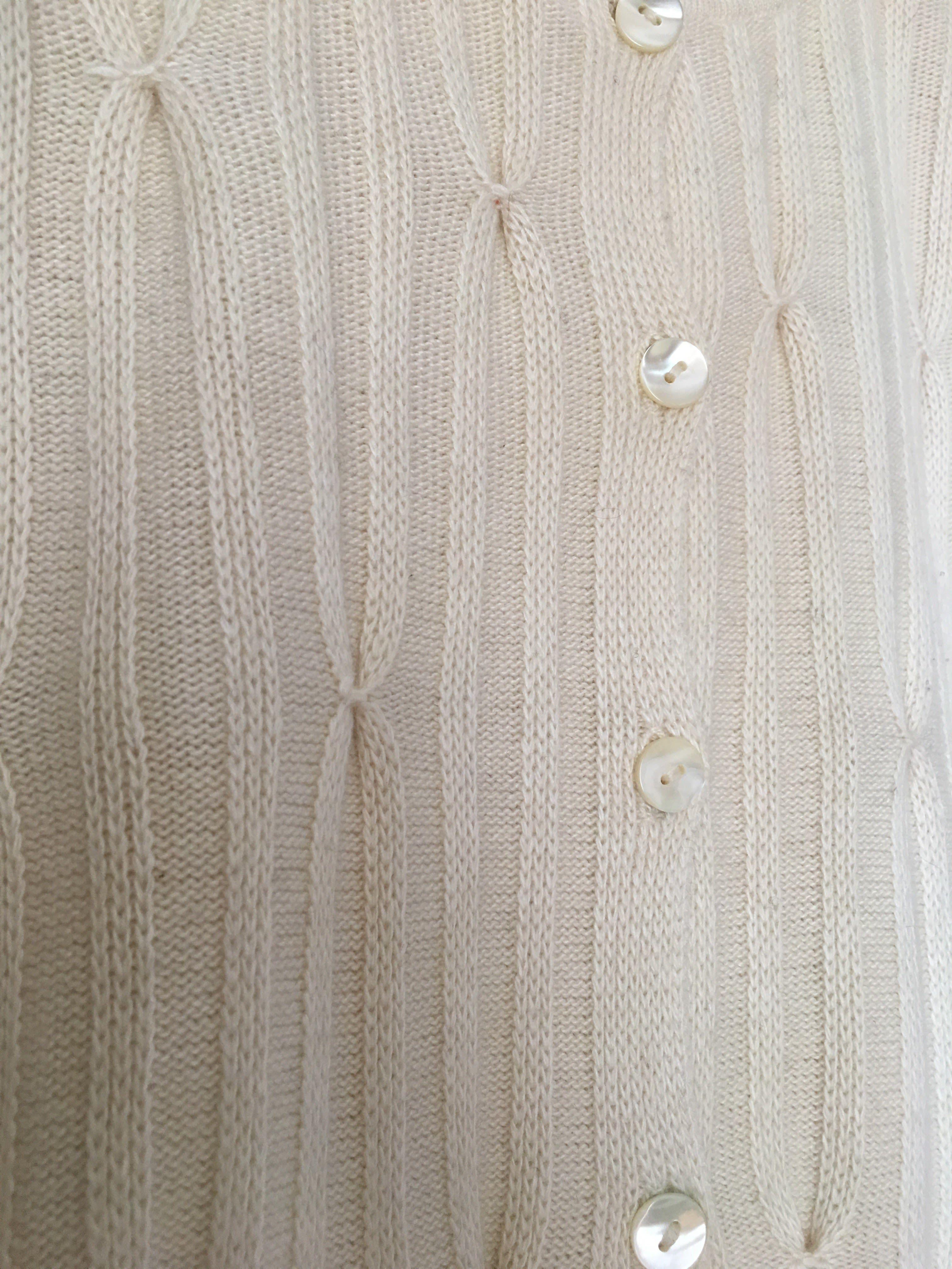 Pulls - Cardigan beige
