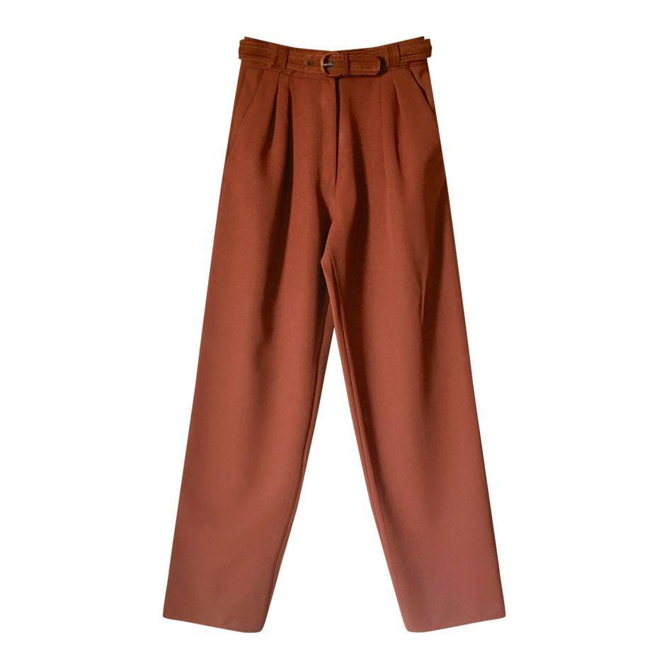 Pantalons - Pantalon en laine Versace