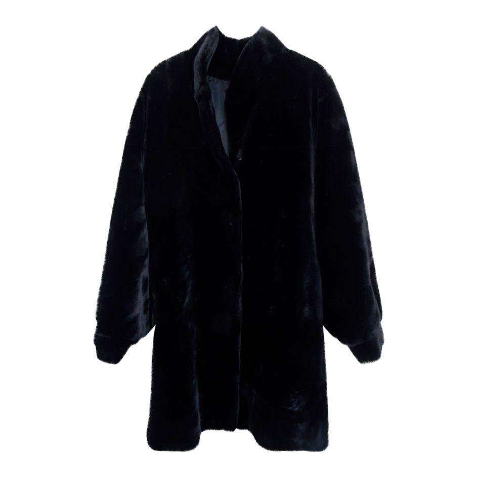 Manteaux - Faux fur noir
