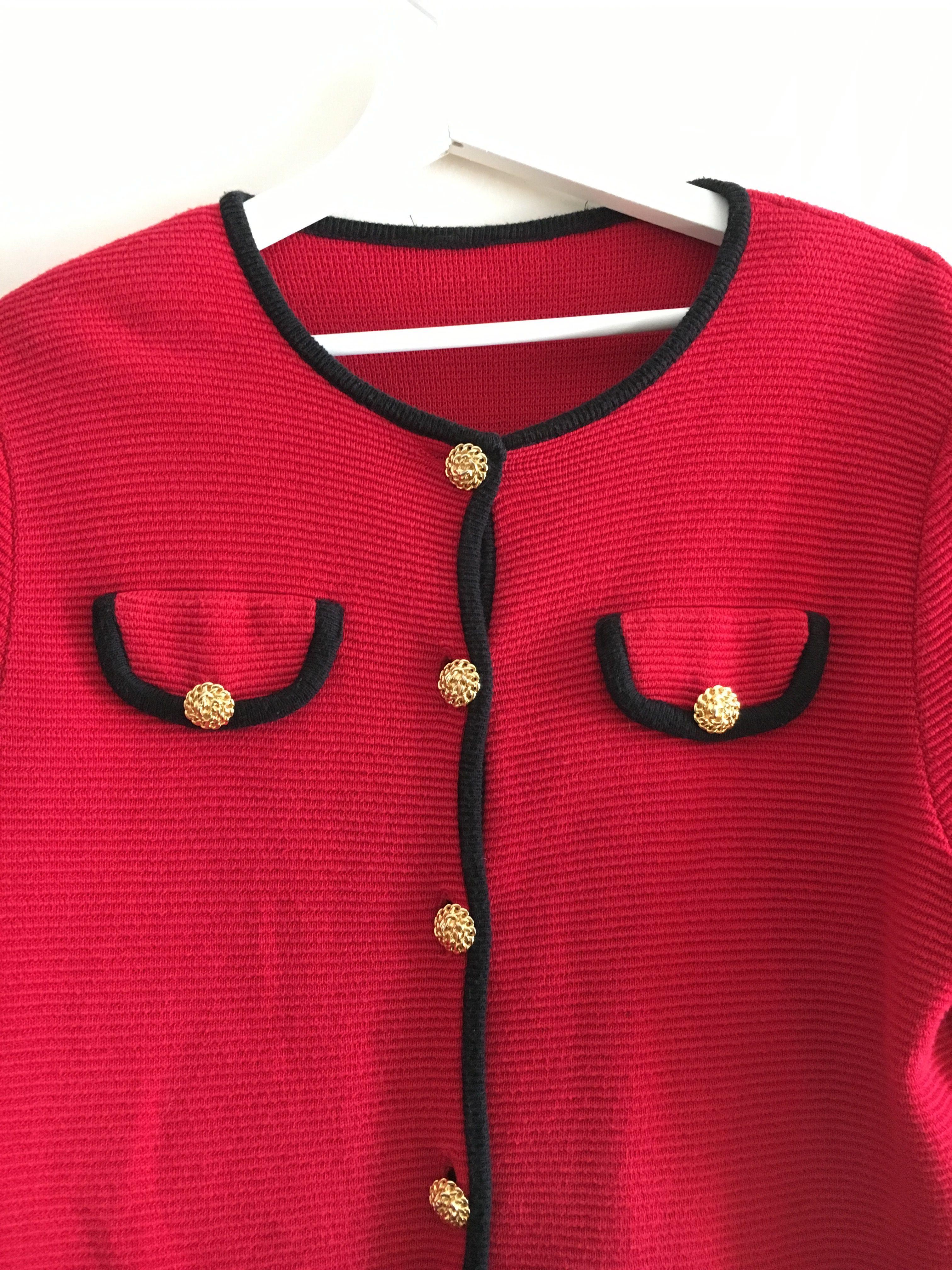 Pulls - Cardigan rouge