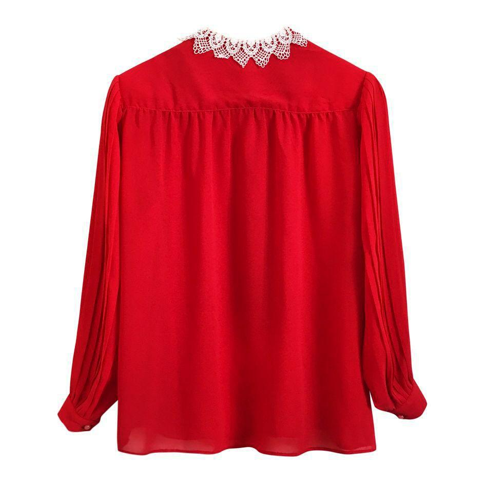 Tops - Blouse rouge