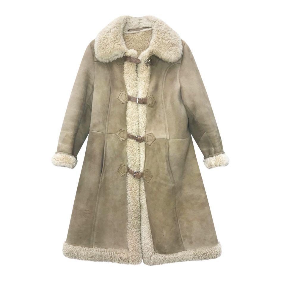 Manteaux - Peau lainée taupe
