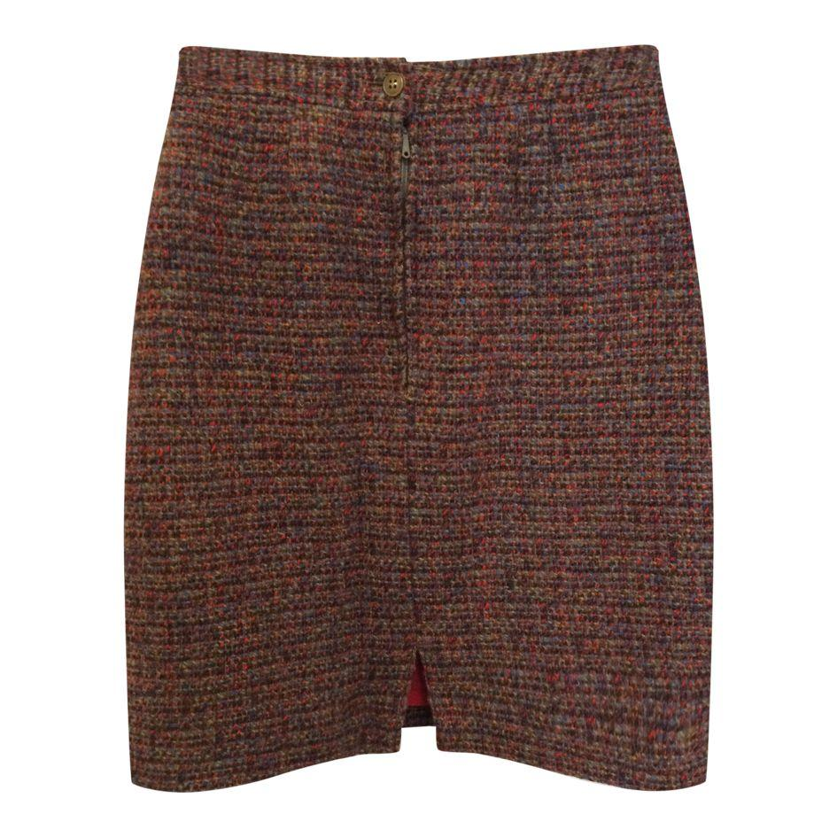Jupes - Jupe courte en tweed