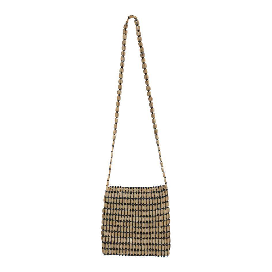 Accessoires - Sac en perles de bois
